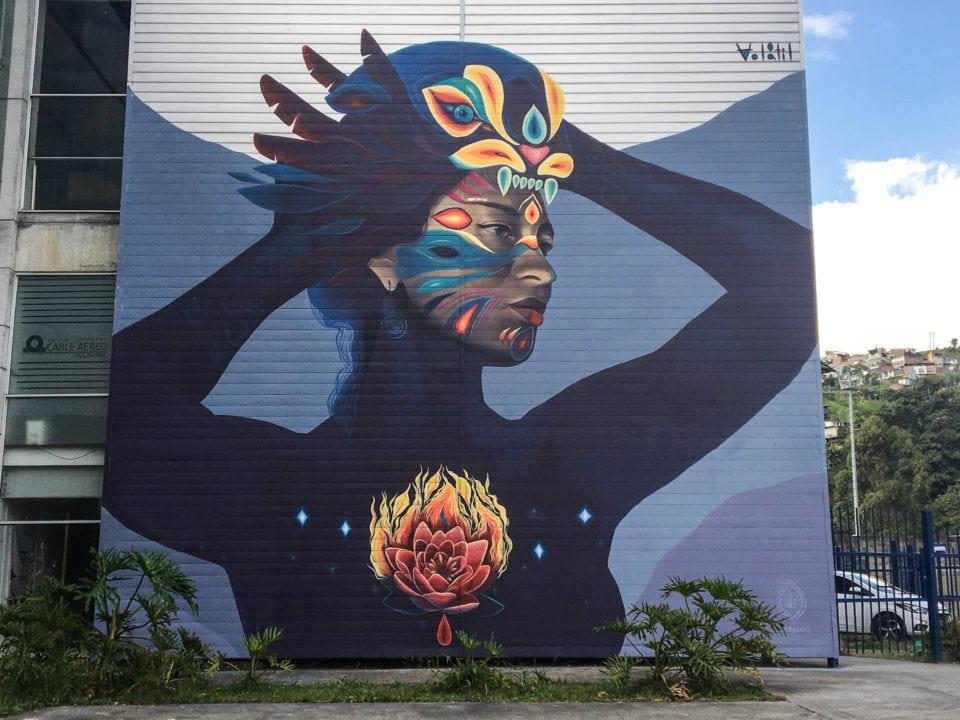 Mural in Manazales