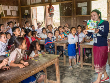 Turning Laotians Into Readers