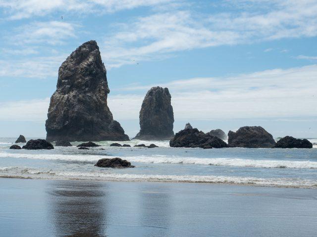 Cannon Beach sea stacks