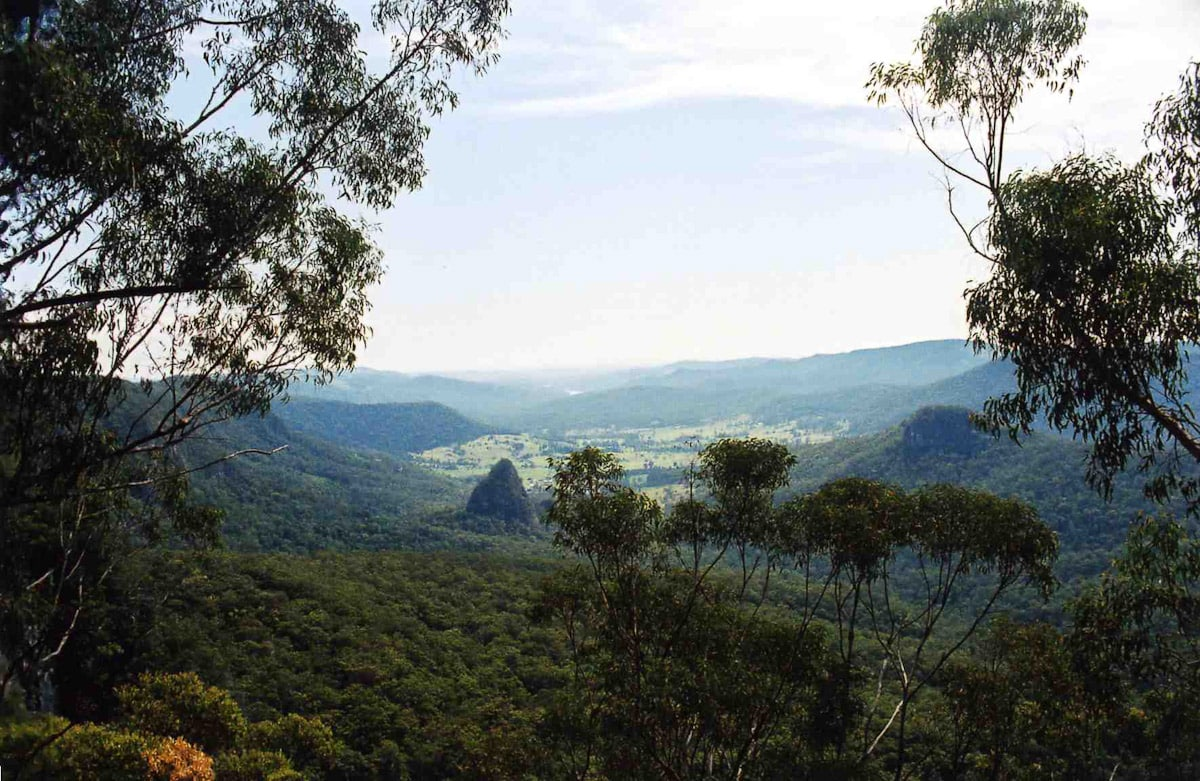 View from Lamington